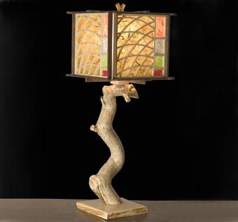 Custom Made Asian Style Lamp