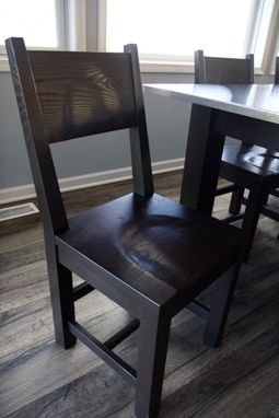 Custom Made Ash Dining Chairs