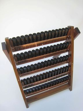 Custom Made Traveling Perfumer's Organ For Essential Oils,Perfumes,Tinctures. Display & Travel Case