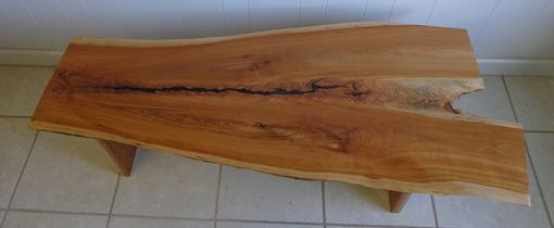 Custom Made Cherry Live Edge Coffee Table