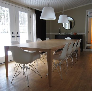 Custom Made Thin Edge Dining Table