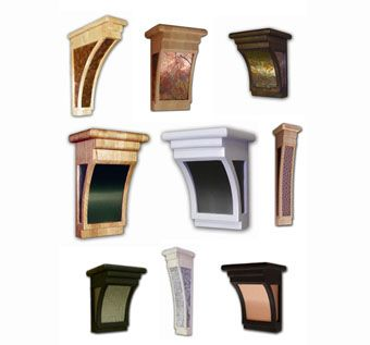Custom Made Metallic Corbels