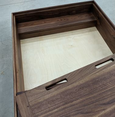 Custom Made Rolling Underbed Storage