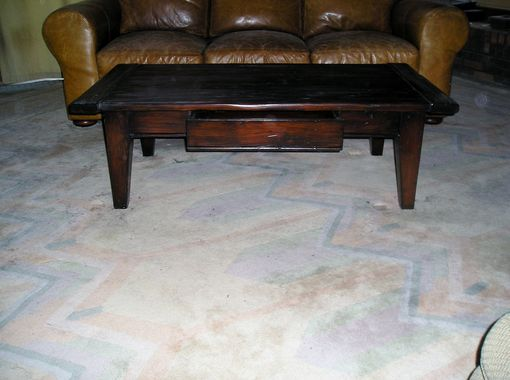 Custom Made Fir Coffee Table