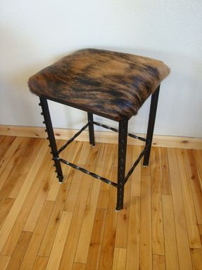 Custom Made Western Bar Stool
