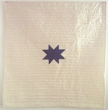 Custom Made Handcrafted Hand Quilted Tiny Star Quilt