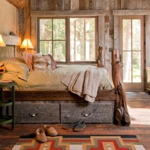 rustic reclaimed custom bed - Custom Bed Frames