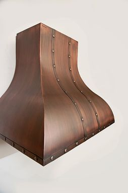 Custom Made Colonial Copper Range Hood 36""
