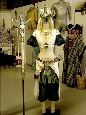 Custom Made Idara Costume