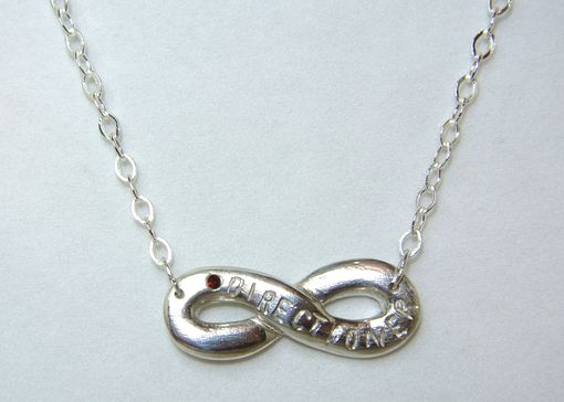 "Custom Made One Direction ""Directioner"" Infinity Necklace"