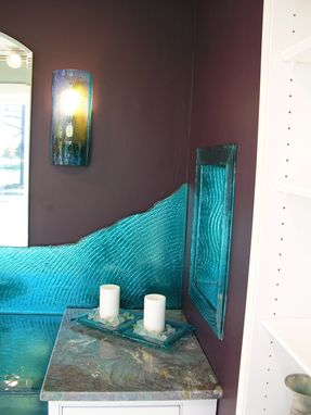 Custom Made Full Bathroom - Ocean Blue