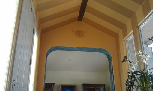 Custom Made Interior Decorative Painting, Ceiling