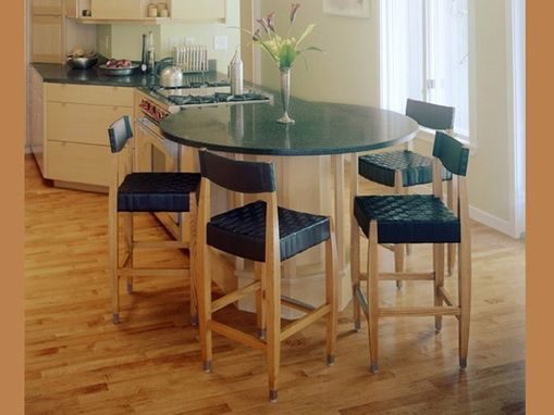 Custom Made Gramercy Bar And Counter Stools