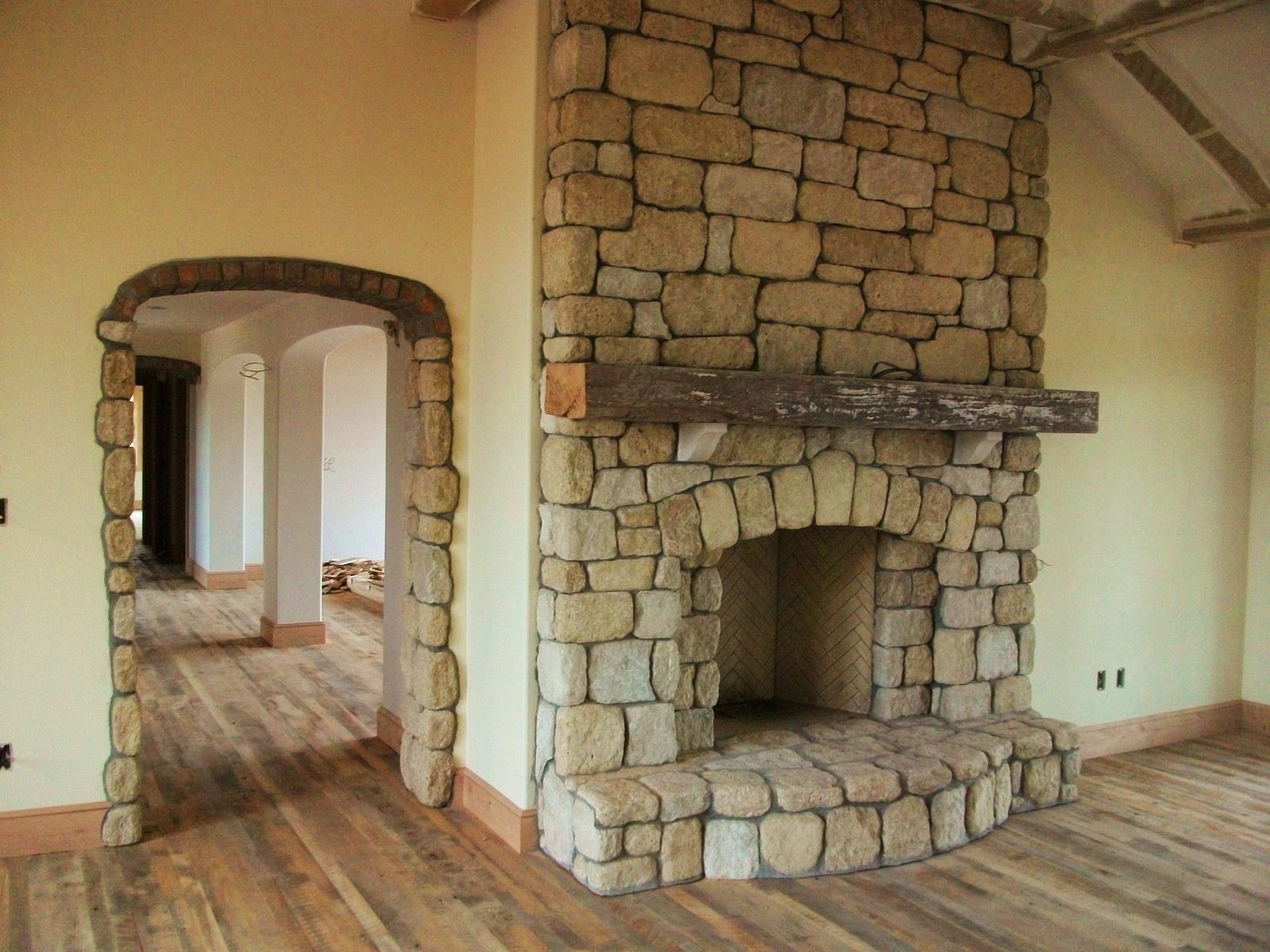Hand Crafted Rumfordize Existing Fireplace By Stone Creek