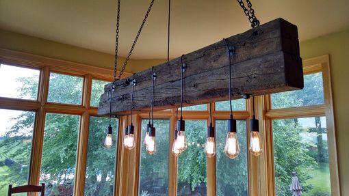 Custom Made Reclaimed Beam Light