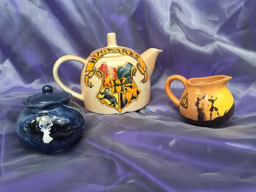 Custom Made Hero Tea Set