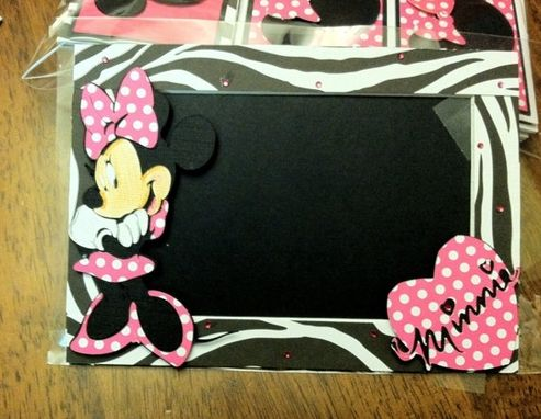 Custom Made Custom Made Minnie Inspired Photo Mats