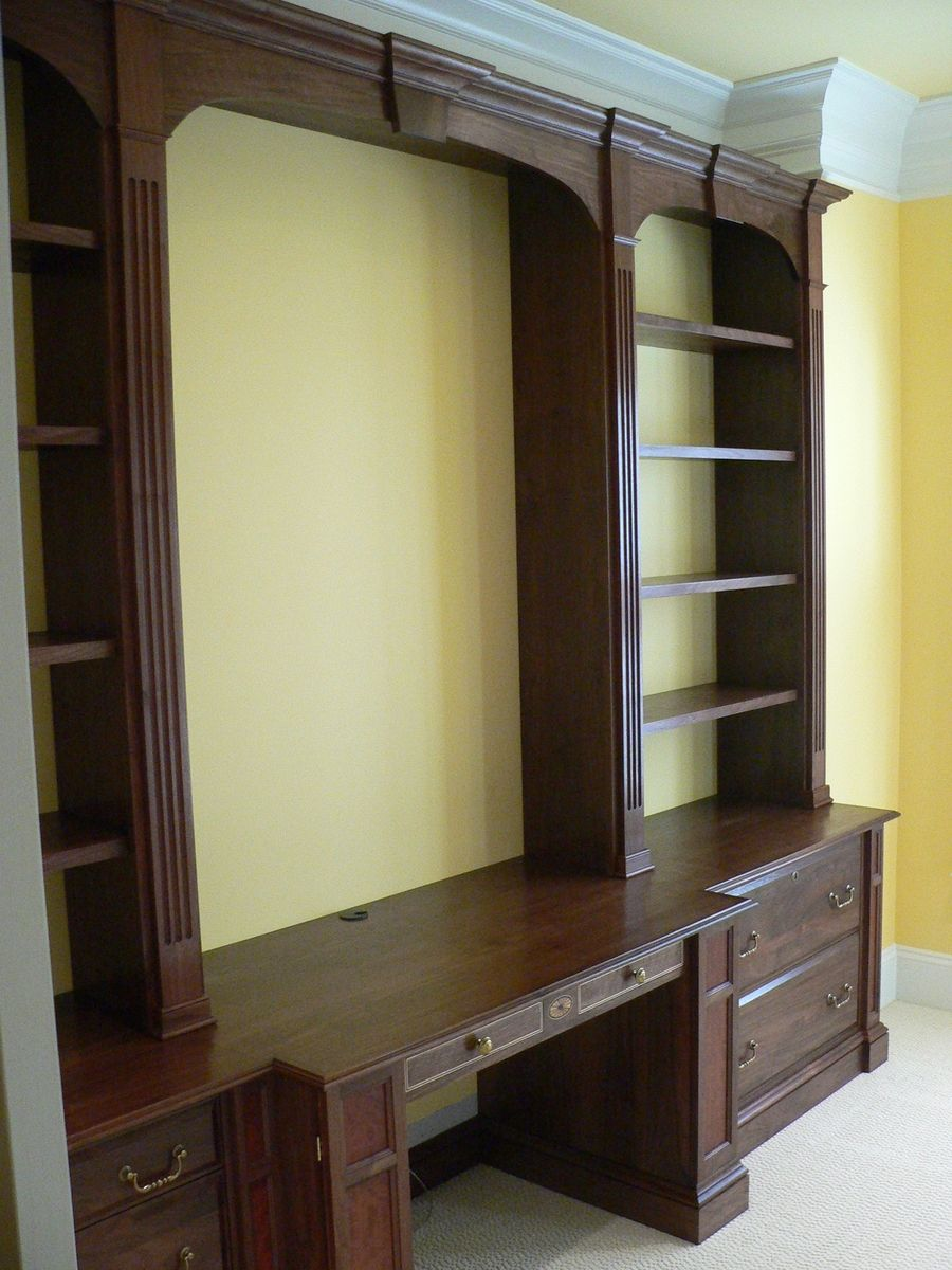 home office wall unit. Custom Made Home Office Wall Unit E