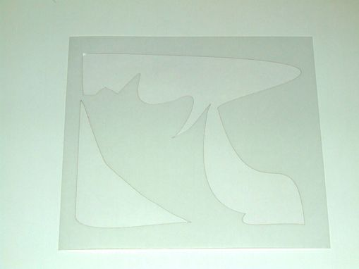 Custom Made Custom Spraypaint Stencil - Laser Cut Mylar