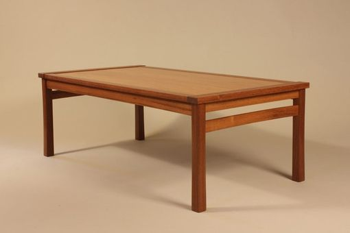 Custom Made Frame-Top Coffee Table