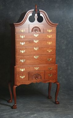 Custom Made Cherry Highboy