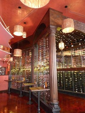 Custom Made Custom Commercial Wine Room For Bar Or Restaurant Wine Sales