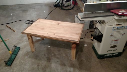 Custom Made Reclaimed Wood Custom Coffee Table