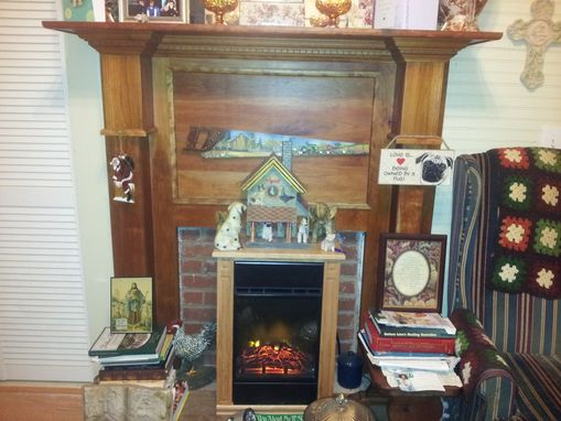 Custom Made Custom Soild Cherry Mantel