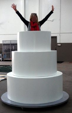 Custom Made Theme Prop, Giant Pop Out Cake