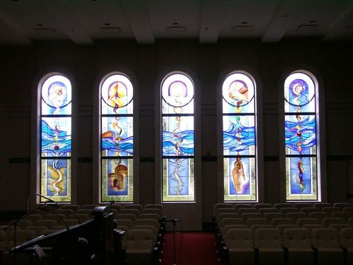 Custom Made Temple Beit Hayam Sanctuary Window Treatment In Stuart, Fl