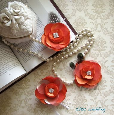 Custom Made Handmade Flower Hair Clip