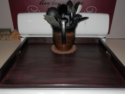 Custom Made Stove Top Cover With Handles
