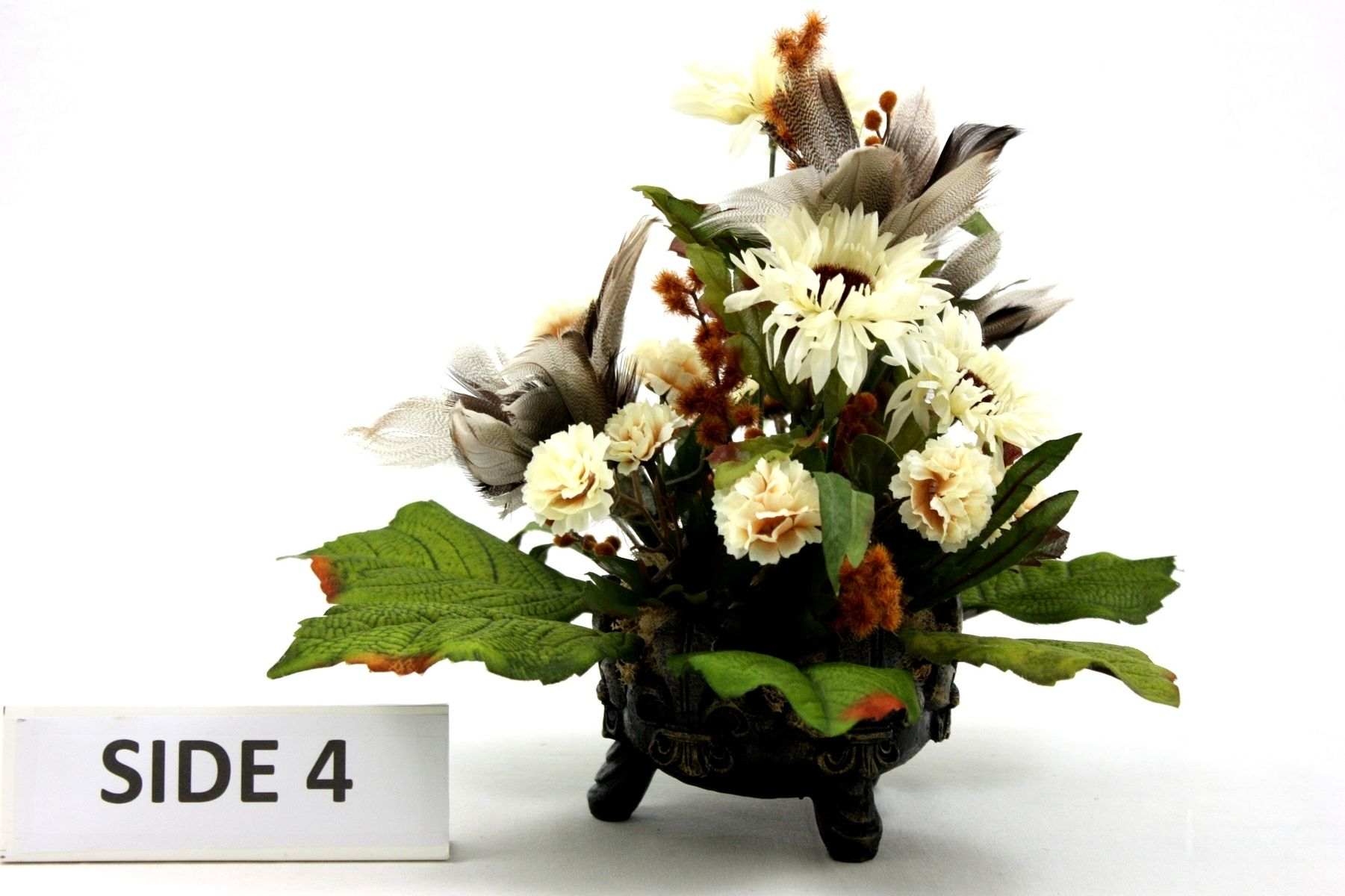 Hand crafted unique silk flower arrangement table centerpiece home hand crafted unique silk flower arrangement table centerpiece home decorating ideas by patique floral custommade mightylinksfo