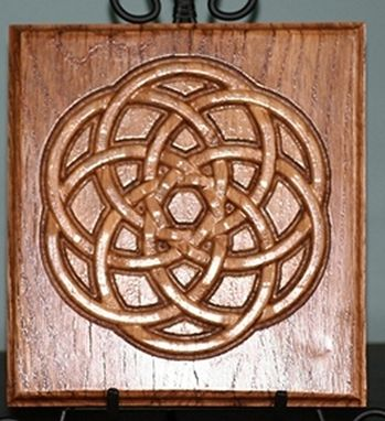 Custom Made Celtic Knot Carvings