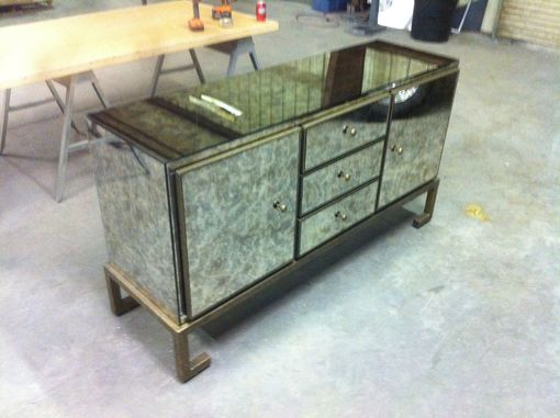 Custom Made Antique Mirror Buffet