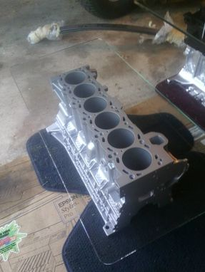 Custom Made Recycled Bmw 2.8l Aluminum Engine Coffee Table