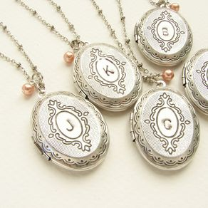 personalized silver necklace lockets locket market etsy customized jewelry engraved il