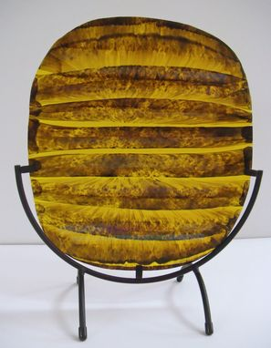 Custom Made Banded Tortoise Shell - Glass Fusing Artwork