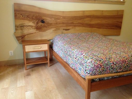 Custom Made Bed And Headboard