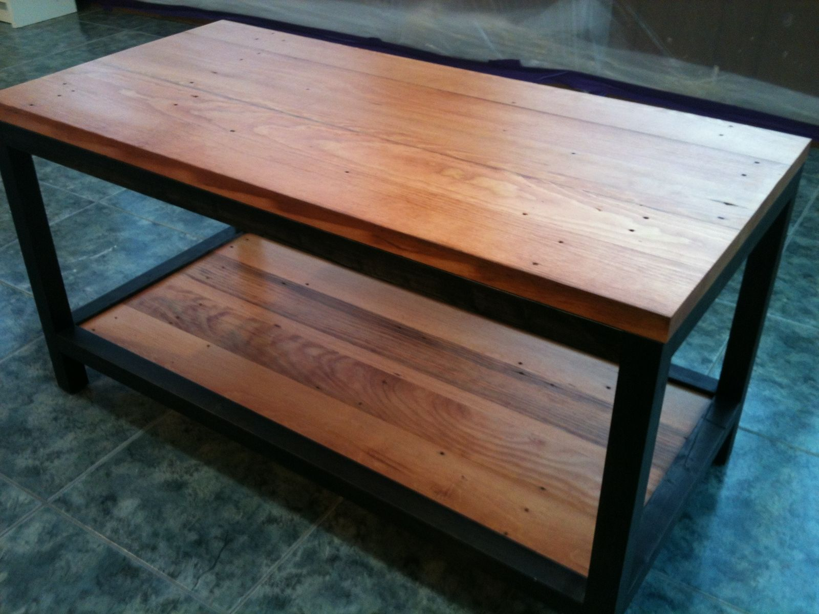hand made reclaimed wood coffee tablecooper's custom projects