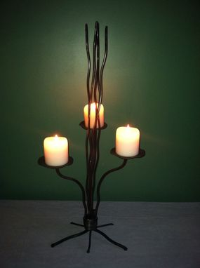 Custom Made Lily Pad Table Candle Holder