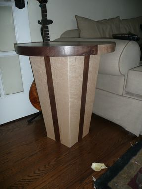 Custom Made Round Side Table