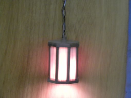 Custom Made Hanging Light