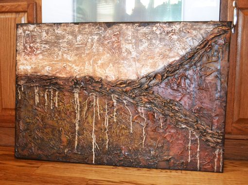 "Custom Made 36x24 Original Modern Textured Contemporary Abstract Painting By Alisha ""Sand Dune"""