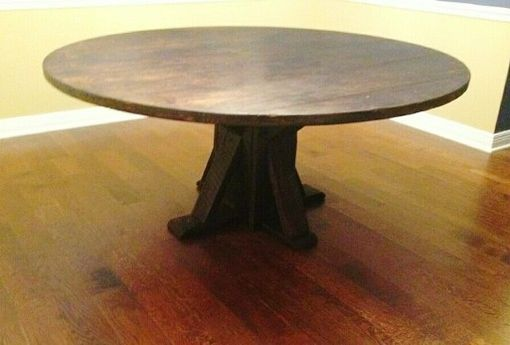 Custom Made Full Circle Table