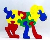 Custom Made Children's Wood Jigsaw Puzzles