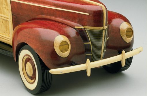 Custom Made '40 Ford Woodie Treasure Box