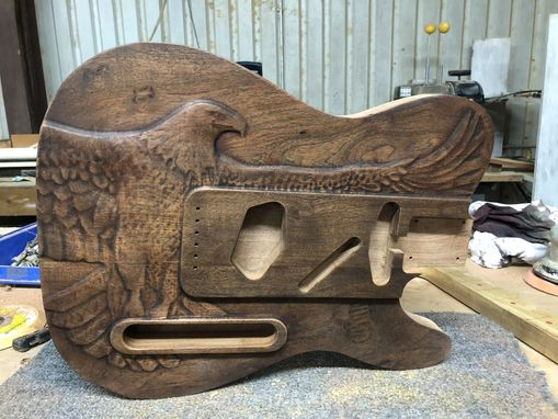 Custom Made Eagle T-Type Electric Guitar