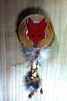 Custom Made Totem Animal Leather Rattles