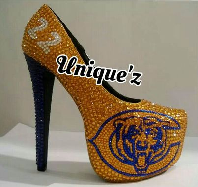 Custom Made Chicago Bears Heels